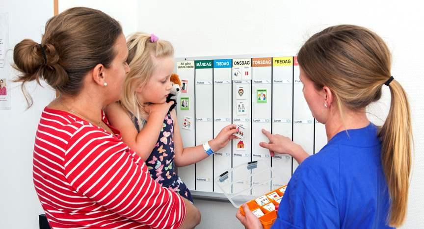 Bildstöd på barnkliniken