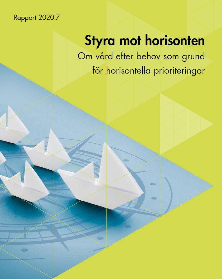 Styra mot horisonten: om horisontella prioriteringar av hälso- och sjukvård